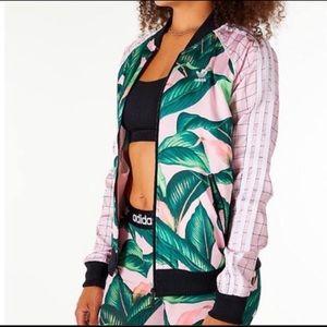 Adidas Originals Brazil FARM SST Palm Leaf Jacket